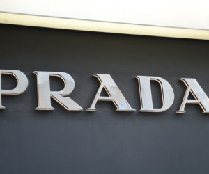 Signs upgrade project for PRADA stores in Hong Kong